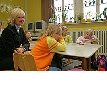 Frau Sommer, 2006 in einer Grundschule in Remscheid