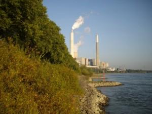 Das Kohlekraftwerk Möllen