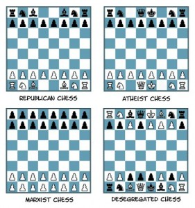 <small>Schach im Spiegel der Gesellschaft ;-)</small>