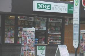 Einer der vier Titel - die NRZ