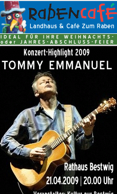 Tommy Emmanuel in Bestwig