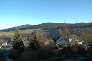 Letzter Tag im Jahr: Blick aus denm Fenster