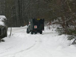 Niederländische Armee am Bergsee