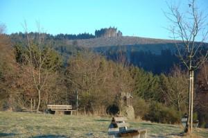 SGV-Hütte: Blick Richtung Krämerhöhe