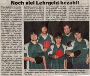 <h5>Ein Tischtennis-Talent</h5>