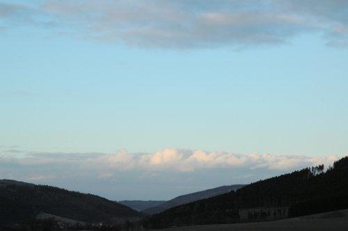 Wolken über dem Negertal