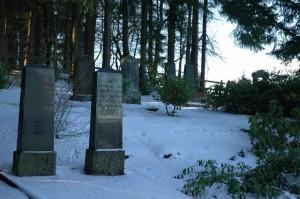 Zahl der Gräber: Sieben