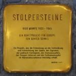 Das Projekt Stolpersteine