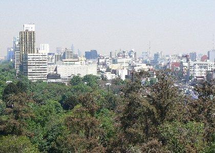 Blick vom Castillo de Chapultepec