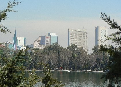 Der City-Teil des Chapultepecparks
