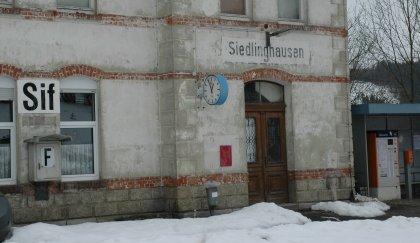 Bahnhof Siedlinghausen - Sif