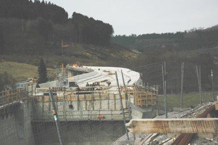 Die Ortsumgehung Olsberg erreicht fast die B 480