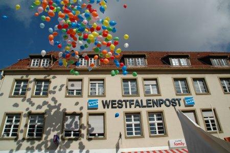 Up, up and away - Arbeitsplätze in Soest (Bild) und Werl.