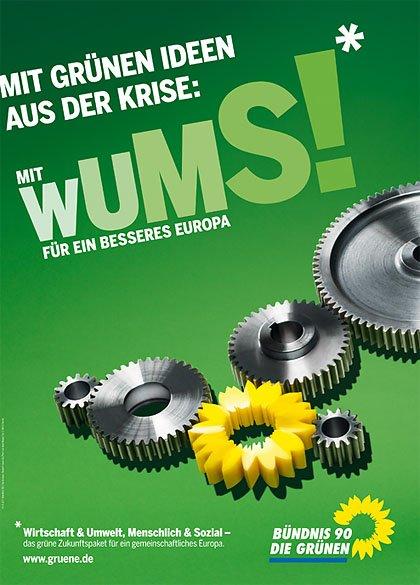 """WUMS steht für """"Wirtschaft und Umwelt, menschlich und sozial"""""""