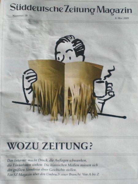 Wozu Zeitung? Zehn Gründe, warum Blogs in Deutschland nicht funktionieren.