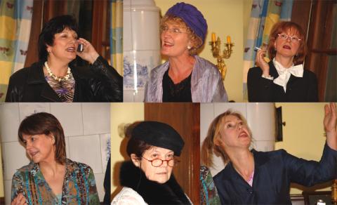 Sechs Frauen - sechs Stimmen. Morgen Abend in Brilon / Hochsauerland.
