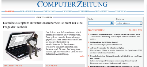 Nach 40 Jahren: ComputerZeitung ohne Print