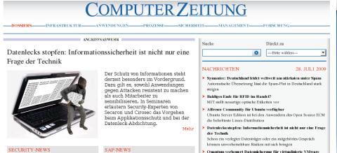 Nach 40 Jahren: ComputerZeitung ohne Print