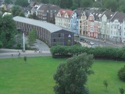 Die Jugendherberge in Düsseldorf