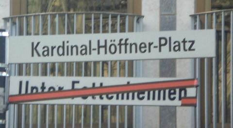 Solch ein schöner Straßenname und jetzt sowas ...