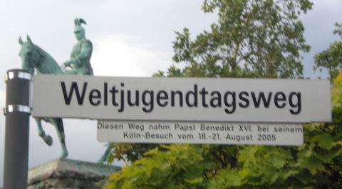 Benedikt kam und die alten Straßennamen gingen