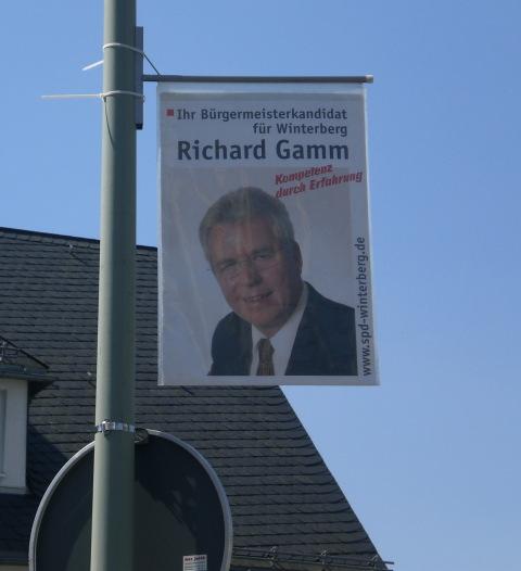 Will er wirklich Bürgermeister werden? Der Herausforderer: Richard Gamm