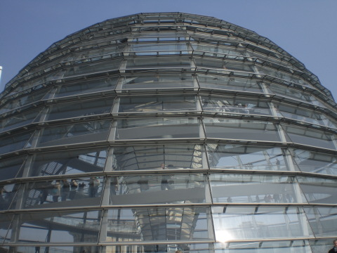 Die Reichstagskuppel (photo: zoom - as usual)