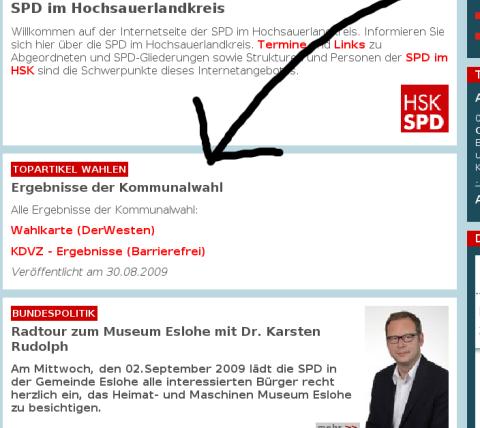 Zum Beispiel die SPD: Nach zwei Tagen noch keine Auswertung der Wahl.