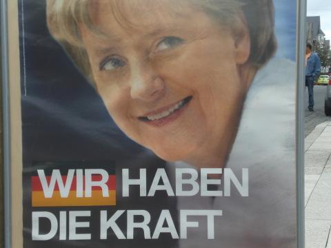 Merkel hat die Kraft - in NRW ein Kalauer