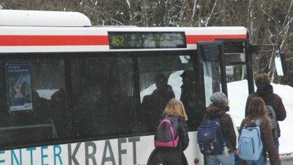 Schulbus im HSK (archiv: zoom)