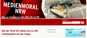 Medienmoral: Protest- und Diskussionsblog der WAZ Mitarbeiter