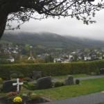 Wiemeringhausen vom Friedhof aus gesehen