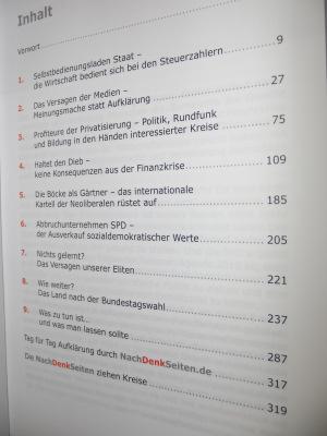 Der Inhalt des kritischen Jahrbuchs 2009/2010