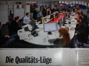 Die WAZ-Zentralredaktion