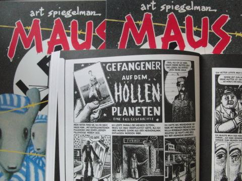 Art Spiegelmann, Maus I und II. Ein ungewöhlicher Comic über die Shoa.