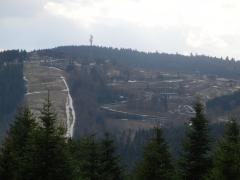 Skipiste und Bobbahn in Winterberg