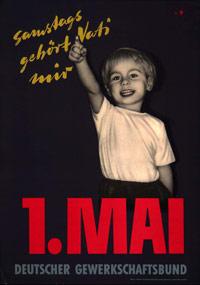 Maiplakat 1956 (Quelle: DGB)