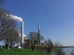 Kohlekraftwerk Möllen am Niederrhein