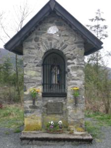 Am Themenweg: Bildstock St. Blasius (foto: zoom)