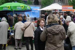 Heute morgen in Dortmund: Grüne und CDU nahe beieinander (foto: zoom)