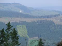 Blick vom Kahlenberg Richtung Fort Fun