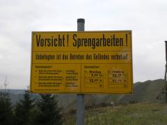 Silbach: Steinbruch
