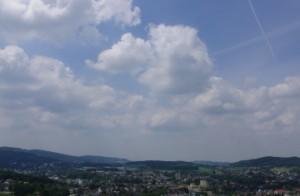 Blick auf Hemer im Sauerland (foto: zoom)