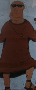 Tanzender Mönch