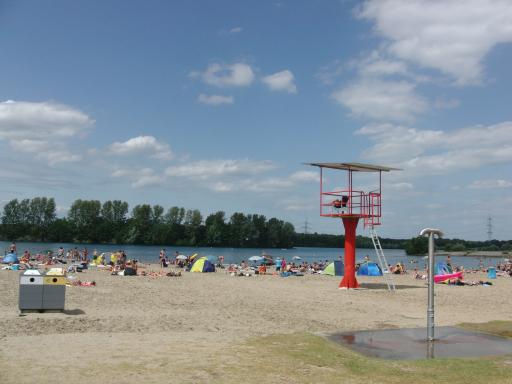 Das Strandbad am Baggersee, Tenderingsweg.(foto: zoom)