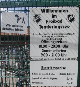 Baggersee Tenderingsweg: Öffnungszeiten und Eintritt (foto: zoom)