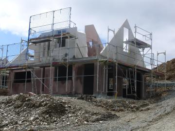 Landal Ferienhaus im Bau