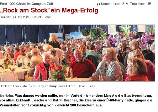 Rock am Stock (screenshot: 7. September 2010)