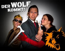 Der Wolf kommt. Das Plakat. (bild: djv facebook)