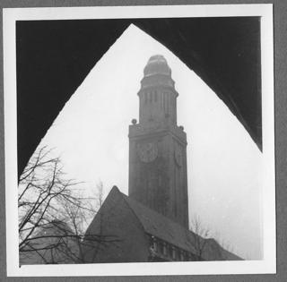 Das Buersche Rathaus 1950 (foto: zenzoom)